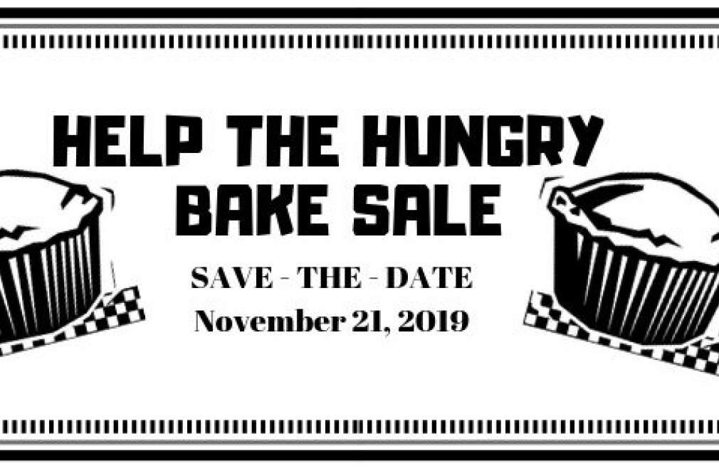 Help the Hungry Bake Sale